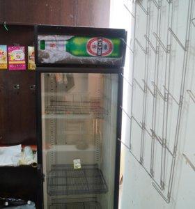 Холодильник вертикальный