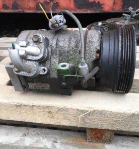 Компрессор кондиционера на двигатель 3s