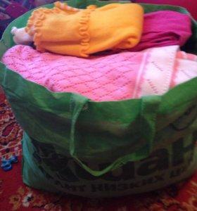 Пакет вещей для девочки 1-2 года.