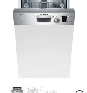 Встр. посудомоечная машина 45 см Bosch SPI50E05RU