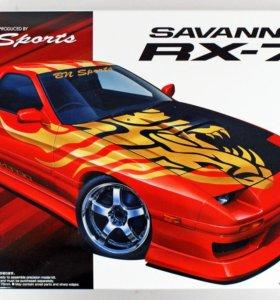 Сборная модель BN Sports Mazda FC3S RX-7`89 (1/24)