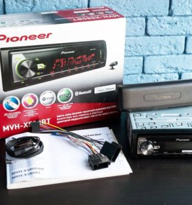 Pioneer mvh x580bt