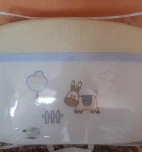 Набор постельных принадлежностей для детской крова