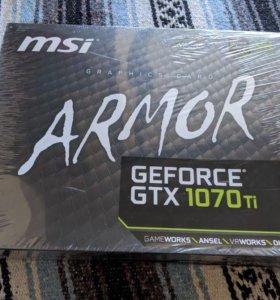 Видеокарта MSI GeForce GTX 1070ti /8gb-