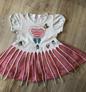 Платье 86 разм