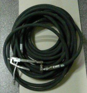 Шланг резиновый высокого давления ф10х2 40МPa 18м