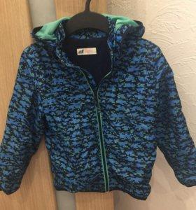 Куртка ветровка на мальчика фирмы H&M на 6-8 лет