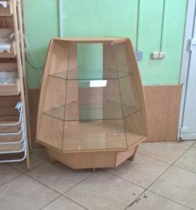 Тумба витринная