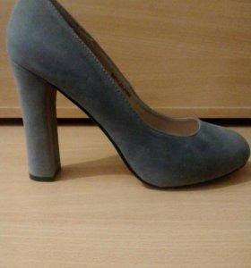 Туфли замша