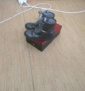 Ботинки осенние в хорошом состояние