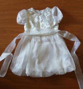 Платье праздничное размер 104