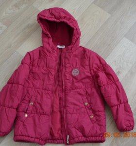 Куртка на весну-осень на рост 110-116