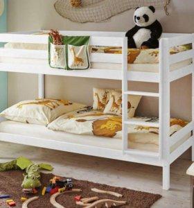 Кровать двухъярусная Эколайт