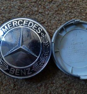Заглушки на Mercedes