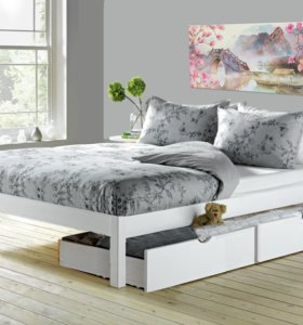 Кровать-подиум Лунария