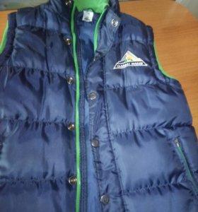 Куртка безрукавка спортивная с логотипом Салават Ю