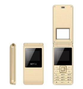 телефон 1.77 ''spreadtrum6533 Dual SIM карты мобил
