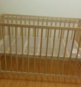 Кроватка детская (Икеа)