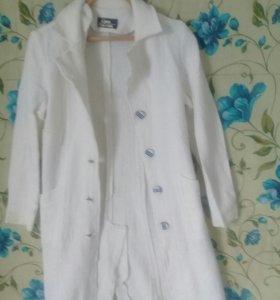 Пальто, почти новое 2раза одевала