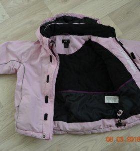 Куртка ветро и водонепрониц. Размер 104+6