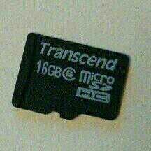 Micro CD карта на 16гб