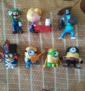 Игрушки из макдональдс