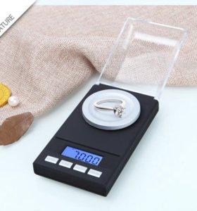Прецизионные цифровые ювелирные весы 50 г 0.001 г