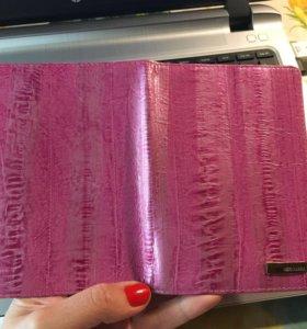Обложка для паспорта Neri Karra кожа