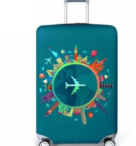 Чехлы на чемодан на колесиках новые