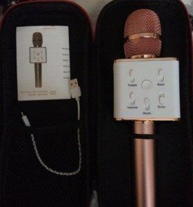 Электронный Микрофон Wireless Microphone&HIFI-Q7