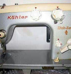 Швейная машинка Келлер (Kohler ) в столе - тумбе.