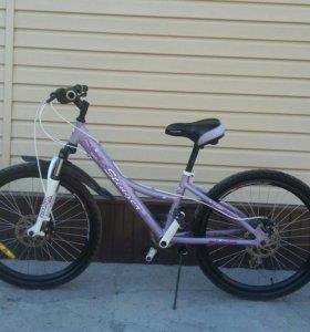 Подростковый велосипедед