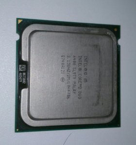 Процессор intel core 2 duo 2.13 ghz
