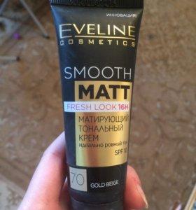 Тональный крем Eveline Smooth Matt тон 70