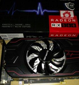 Видеокарта Radeon rx560 4Gb