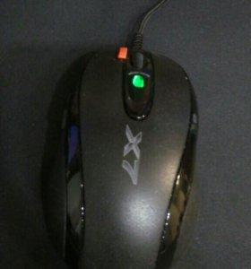 Игровая мышка A4tech X7