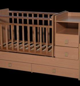 Кроватка Антей ульяна 4