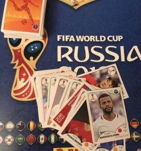 Наклейки Panini FIFA World Cup 2018