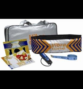 Пояс вибромассажер для похудения vibra tone