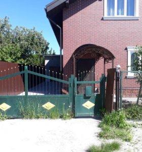 Продажа распашных ворот с калиткой