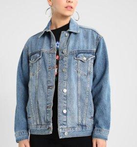 Джинсовая куртка top shop