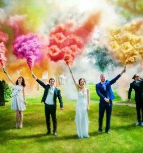 Цветной дым для фотосессий Дымовые шашки
