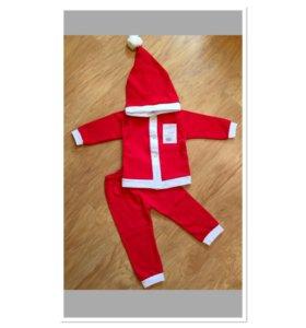 Новый детский новогодний костюм 74-80 размер