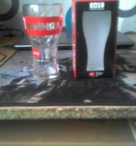 Бокал Coca-Cola