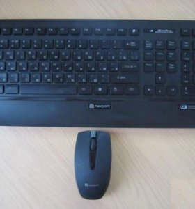 Клавиатура + мышь Беспроводной набор NX KM-405