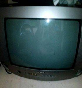 Телевизор вместе с двд