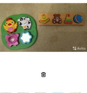 Пакет игрушек для малыша от 0 и до 1.5 лет