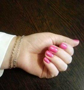 шеллак, наращивание ногтей