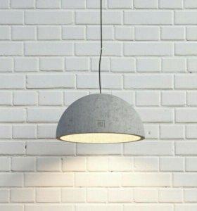 Светильник из бетона (новый)
