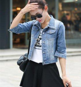 пиджак джинсовый